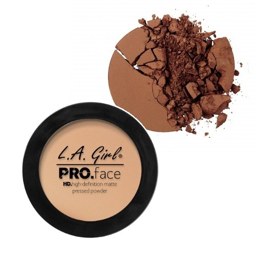 LA GIRL PRO Face Powder - GPP615 Cocoa + 1 Free Nail Polish by LA Girl USA Cosmetics