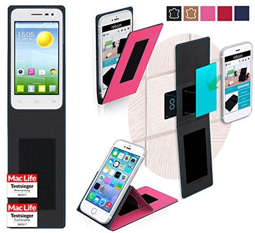 reboon Hülle für Alcatel OneTouch Pop S3 Tasche Cover Case Bumper | Pink | Testsieger