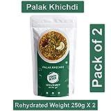 PORTA BITES Ready to Eat Khichdi Palak Freeze Dried Natural (No MSG/Preservatives)