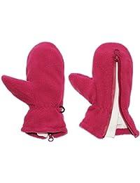 """sehr weiche _ Fleece Fausthandschuhe - mit Reißverschluß - Größen: 1 bis 5 Jahre - """" lila / dunkel flieder / brombeere """" - LEICHT anzuziehen ! mit Daumen - Kinder & Babyhandschuhe / Fleecehandschuhe - Fausthandschuh Handschuh Fäustling - Mädchen Jungen Handschuhe / Thermo - Kinderhandschuhe"""