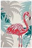 Moderner Teppich My Broadway Flamingo Pastell von Obsession grün,blau,rose,Ananas (120 x 170 cm, BRO 280 Flamingo)