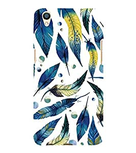ifasho Designer Back Case Cover for Oppo F1 Plus :: Oppo R9 (Tribal Design Feather Wuhan Africa Modinagar)
