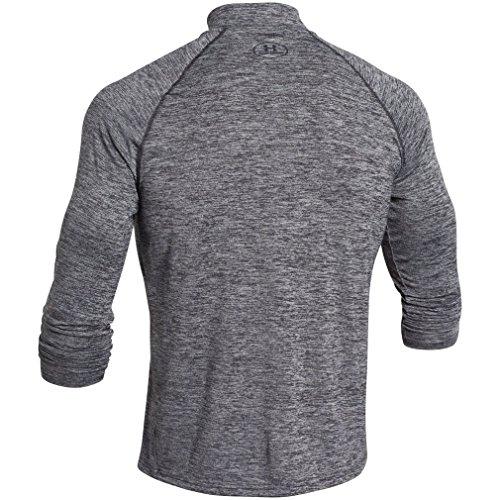 Under Armour Herren Fitness - Sweatshirts Fitness Sweatshirt Ua Tech 1/4 Zip Blk/Blk/Gph