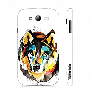 Samsung Galaxy Grand Win the Wolf designer mobile hard shell case by Enthopia