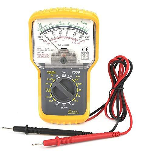 KT7006 Hochempfindlichkeits-Präzisions-Handheld-Analog-Multimeter AC/DC-Spannungs-Stromzähler mit Batterie Handheld-multimeter