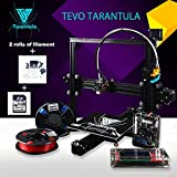 TEVO Tarantula I3 Aluminium Extrusion 3D Printer Kit +3D Druck 2 Rolls Filament 8GB SD Karte LCD als Geschenk (Standarddrucker)