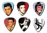 Elvis Presley Set of 6 Loose Gitarre Plektrum Plektron Picks ( Collection E )