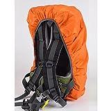 GADA Wasserdichter Regenschutz Rucksack Cover Regenhüllen Regenabdeckung für Camping Wandern und sonstige Outdoor Aktivitäten (orange)