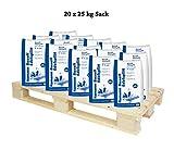 Basalt Edelsplitt 2-5 mm Halbe Palette 20x25 kg Säcke - Zur dekorativen Gartengestaltung
