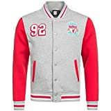 Liverpool Hommes Veste université OFFICIEL LFC produit XS/ S/ M/L/XL/XXL - Gris, Medium