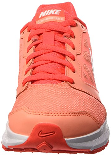 Nike Wmns Downshifter 6, Chaussures de Running Entrainement Femme Multicolor (ATMC PNK / Blanc BRGHT / CRMSN WHI)
