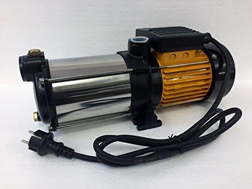 Hauswasserwerk megafixx S5-50ES 1100 Watt 50 Liter Edelstahl Druckkessel - 2