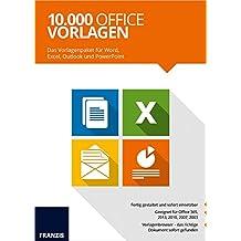Franzis 10.000 Office Vorlagen 2017
