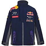 Red Bull Official Team Line Softshell Chaqueta Infantil, Azul Navy, 8 años