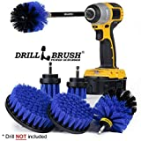 Drillbrush Ultimate Boat Cleaning Kit with 7 Inch Extension - Pool Accessories -...