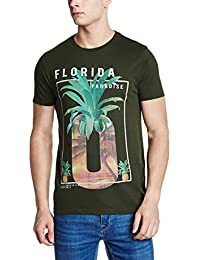 Flat 60% Off On : Jack & Jones Casual Printed T-Shirts For Men's low price image 5