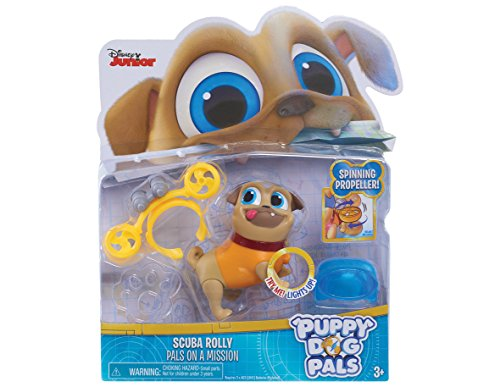 Puppy Dog Pals Light Up Pals Rolly mit Scuba