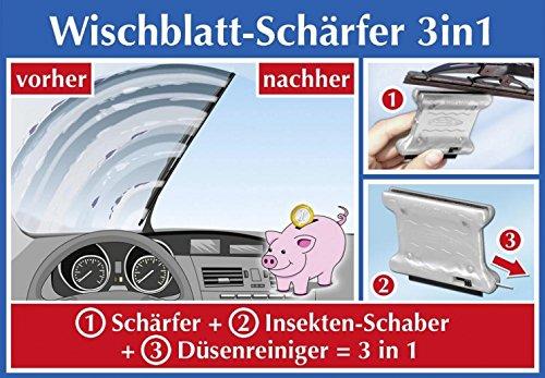 Preisvergleich Produktbild Wischblattschneider Wischblattschärfer Schneider Schärfer Wischblatt Wischer