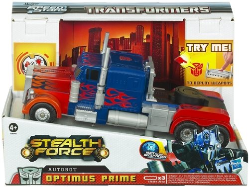 Transformers 19648 - camion speed stars stealth force optimus prime