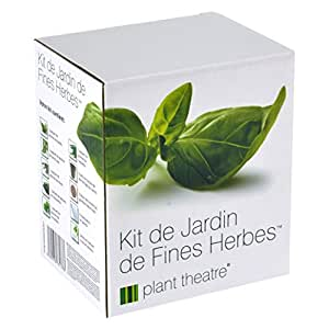 kit de jardin de fines herbes par plant theatre 6 herbes. Black Bedroom Furniture Sets. Home Design Ideas