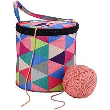 Gro/ß Kapazit/ät Handarbeitstasche zum Stricken//H/äkeln non-brand Stricktasche zur Aufbewahrung von Wolle