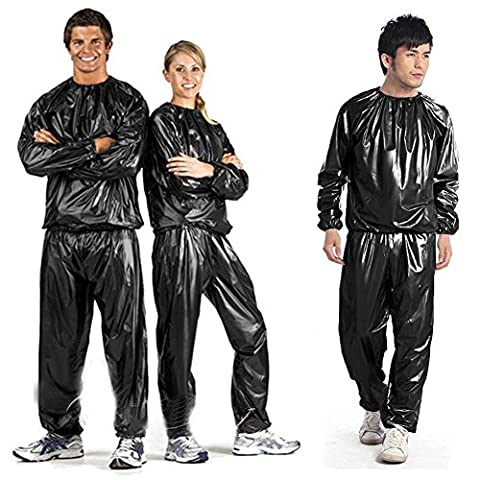 Sweety Maison Heavy Duty Combinaison de sudation sauna Suit Exercise Gym Suit Fitness perte de poids Possèdent