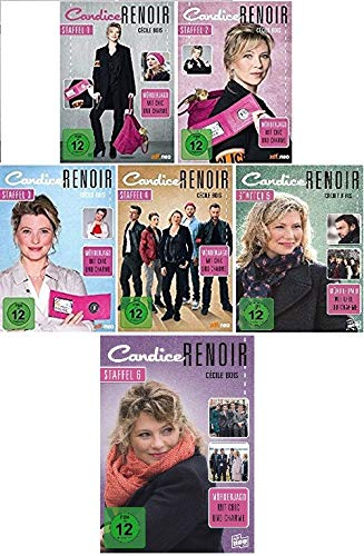 Candice Renoir - Staffel 1+2+3+4+5+6 im Set - Deutsche Originalware [19 DVDs]