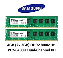 Samsung 4GB Dual-Channel