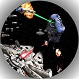 Fondant Tortenaufleger Tortenbild Geburtstag Star Wars T51