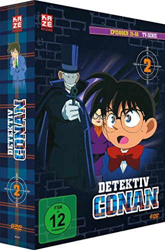 Detektiv Conan – Box 2 (Episoden 35-68) [6 DVDs]