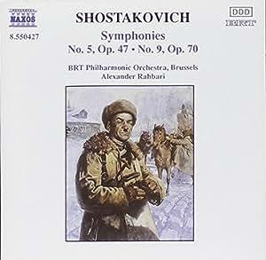 Shostakovich: Symphonies No. 5, Op. 47 / No. 9, Op. 70