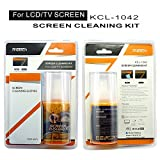 #7: RiaTech 2 in 1 LCD Touch Screen Cleaning Kit (200ml) with Microfiber Cloth for Laptops, PC Monitors,TV