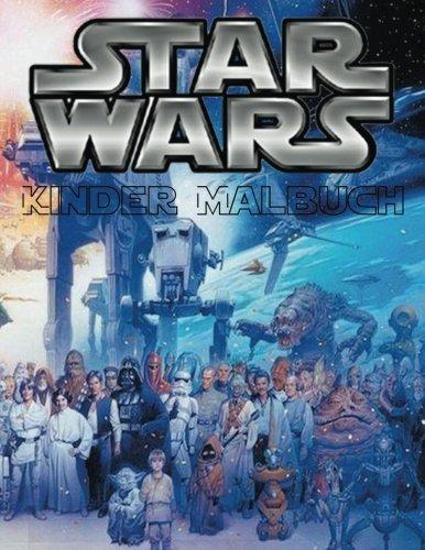 Star Wars Kinder Malbuch: Diese fantastische Seite 62 A4-Format Malbuch ist voller Bilder von Star War Filme einschließlich alle Ihre ... langer Zeit, in einer Galaxie weit weit weg ' (Star Malbuch Wars)