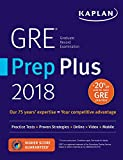 #2: GRE Prep Plus 2018: Practice Tests + Proven Strategies + Online + Video + Mobile (Kaplan Test Prep)