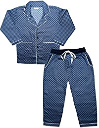 595e828c0a1c ShopMozo Unisex Pure Cotton Top and Bottom Combo Sleep Wear Night Suit for  Boys and Girls
