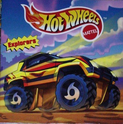 Hot Wheels 8x8 Storybook - Explorers (Hot Wheels 8x8 Storybooks)