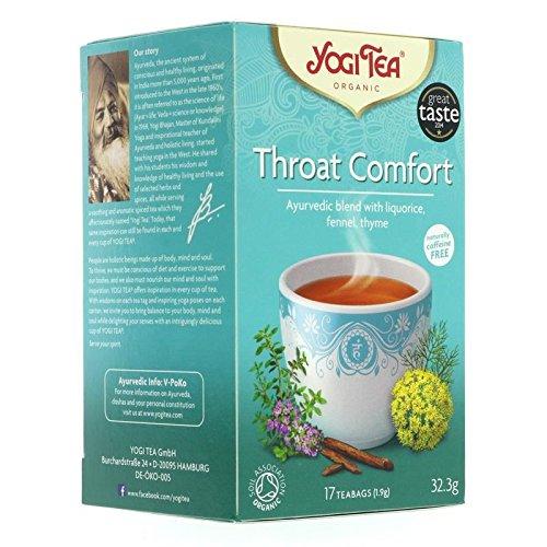 Yogi Tea | Throat Comfort - og | 1 x 17 bags