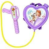 Toyshine Startoys Holi Water Gun with High Pressure, Back Holding Tank, 1.2 L, Disney Sofia, Heart Shape, Purple/Pink