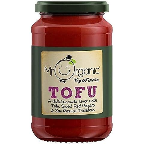 Sr. Orgánica del queso de soja de pimiento dulce y tomate Pasta 350g Salsa