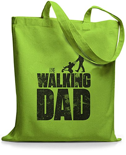 StyloBags Jutebeutel / Tasche The Walking dad Lime