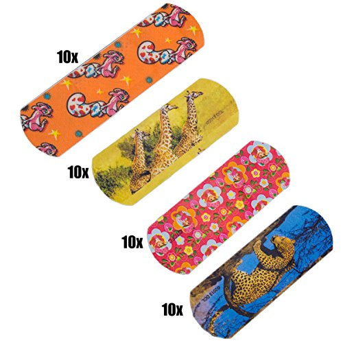 WUNDmed® - Pansements pour enfant - Boîte de 50 pièces