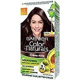 Garnier Color Naturals, Shade 3, Darkest Brown