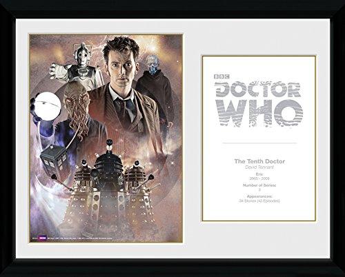 GB Eye 16x 12Zoll Doctor Who 10th Doctor David Tennant gerahmtes Foto 16 Gb-tv