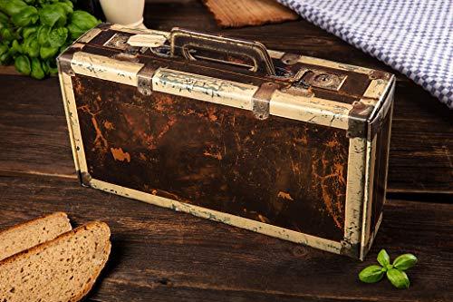 Wurst Geschenk Koffer - mit 24 besondere Salami und Wurst Snacks - Brezen, Herzen, Sterne, Pikanten und vieles mehr - 790 g