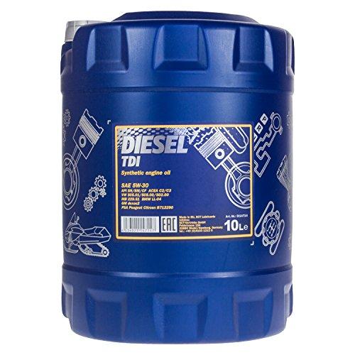 MANNOL Diesel TDI 5W-30 API SN/CF Motorenöl, 10 Liter