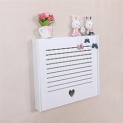 Yazi DIY Elektrische Meter Box Love Herz Clamshell Creative Wand Rack für Home Decor Lamellen 43x 31x 6cm