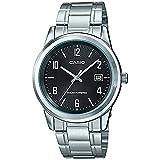 CASIO MTP-VS01D-1B - Reloj de caballero analógico SOLAR. Acero inoxidable. Calendario