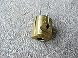 Schuko-Stecker gold, robuste Ausführung