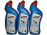 14 Flaschen WC Reiniger Power-Gel beClean blue ocean 750 ml