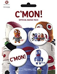 Badge Pack - The C'mons